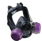 供应诺斯54001双滤盒全面罩防毒面具