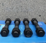 42CrMoA压力容器法兰专用双头螺柱 厂家直销