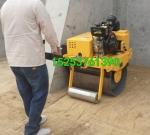 QT-600小型压路机 安阳市草坪振动小碾子 手扶式压实机