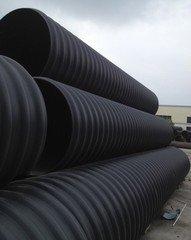 承插式聚乙烯钢带增强排水管