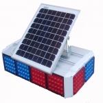 四川厂家直销太阳能四面爆闪灯 价格便宜质量保障