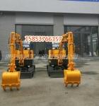 普洱市全新升级浩鸿小型果园挖掘机0.8吨履带式小挖机