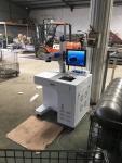 塑料激光打標機,木頭激光雕刻機20W 無錫光久激光
