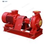 XBD卧式单级电动消防泵型号全性能稳低噪