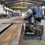 福州重型鋼結構專用銑邊機GMMA-80A 不銹鋼銑邊機