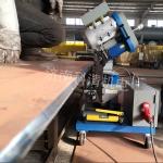 潍坊压力容器不锈钢平板铣边机 全自动钢板坡口机