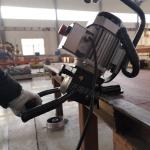 濱州異形件坡口加工 便攜式平板銑邊機SKF-15