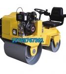 大动力小型柴油压实机 座驾式双钢轮压路机 小碾子早晚用烁腾