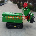 橡胶履带式施肥机 全自动农用施肥开沟机 小型旋耕机深层培土机