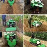 高产量果树林小型施肥开沟机 履带式农用起垄旋耕机销售优势