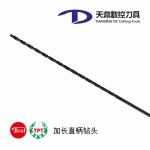 台湾厂家批发-TPT台精钻头 加长直柄麻花钻头 订制各种刃长