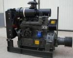 郑州ZH4100P四缸柴油机 44KW60马力配套水泥罐车用
