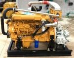 濰柴6105AZLC船用6缸柴油機 150馬力配齒輪箱發動機
