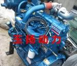 濰柴ZH4102C四缸船用柴油機55馬力帶齒輪箱船用柴油機