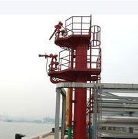 万信铁塔供应化工厂消防炮塔、港口消防炮台