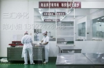 荔湾中心厨房装修效果图 天河中心厨房价格