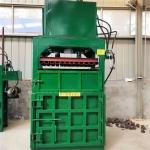 安庆100吨塑料瓶蛇皮袋打包机立式海绵薄膜压包机