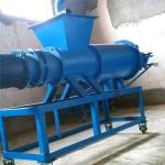 動物糞便干濕分離機大型擠壓式糞水脫水機設備