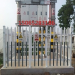 PVC变压器围栏塑钢电力箱变护栏配电室护栏