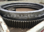 鄭州生產銷售滾筒烘干機齒圈 現貨2.2米烘干機齒圈快速定做