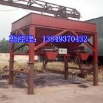 大型砂石料廠專用加深雙斗下料---沙土裝袋機