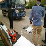 江苏苏州60吨汽车轮重总重称重仪 两块板轴重称
