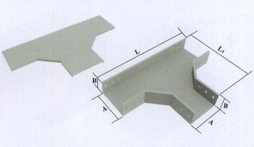 桥架自制各种三通图解