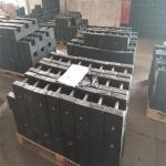 菏泽铸铁砝码_设备配重铁50kg单价