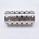 304不锈钢毛细管封圆头 车床加工不锈钢管车螺纹 螺帽 激光