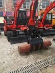 輪式抓木機輪式挖掘機LD95X2020年價格