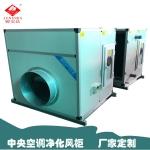 臥式大型凈化風柜電加熱帶變頻變速恒溫恒濕風柜定制