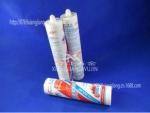 批发普元灰色耐高低温玻璃胶工业级粘接硅酮胶