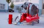 逐浪水利抢险设备厂家分享防汛便捷式打桩机能快速打桩的原理