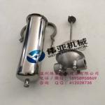 质保304不锈钢单芯管道过滤器