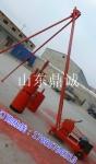 廣東廣州旱井電動打樁機,全套設備安全操作地基打眼夯