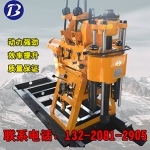 现货供应 岩心钻机 XY-100型简易履带钻机 钻井勘探机厂
