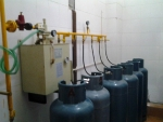 厨房专用30KG液化气气化炉/50KG电热式壁挂式气化器