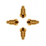 雙頭pogo pin彈簧針連接器 手機電子充電頂針 彈針電流