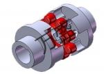 ML系列梅花联轴器销售 万盛梅花形弹性联轴器