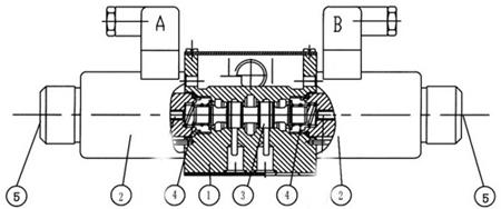 电气 电工电器成套设备 四川阜新液压油泵 梓瑞液压weh型电液换向阀图片