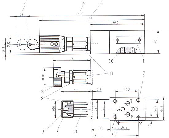 成都运渣车专用马达 zdb型叠加式溢流阀 厂家直销
