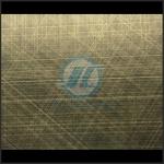 304彩色不锈钢镀铜生产厂家 不锈钢交叉乱纹仿古铜价格