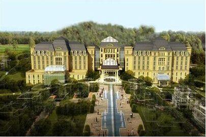 蓟县圣光温泉旅游度假酒店和别墅工程