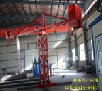 吉林辽源手动圆筒布料机 24米混凝土布料机