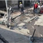 礦用開采電動遙控繩鋸機