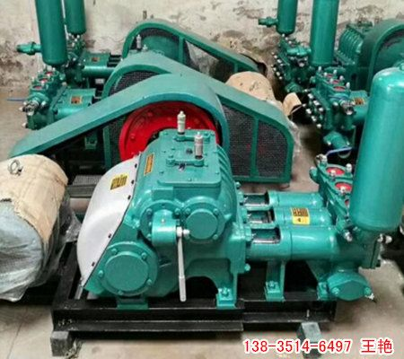楚雄三缸泥浆泵 钻探工程泥浆泵