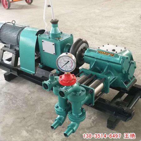 陇南地质勘探泥浆泵 矿用防爆泥浆泵