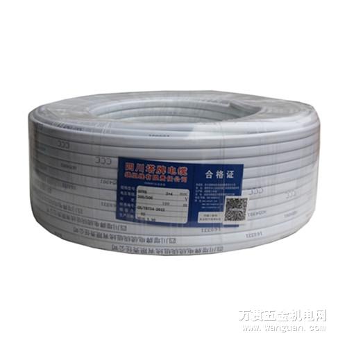 厂家直销 BVVB 2*4 二芯护套线 正品塔牌电缆 四川总