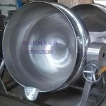大型牛肉煮锅 肉制品卤煮锅 可倾斜夹层锅