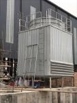供应方形玻璃钢逆流式冷却塔山东锦山DNT150方形冷却塔